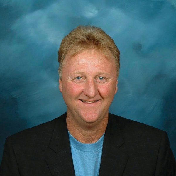 Larry Bird's headshot from the Indiana Pacers