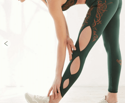 Without Walls scalloped tights