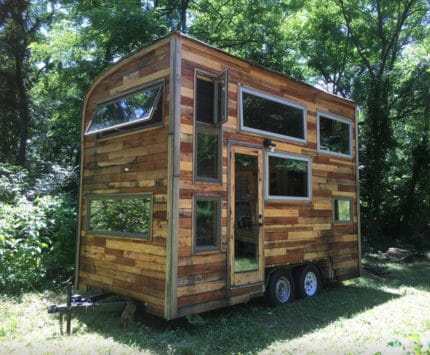 Bloomington Snails Away tiny house