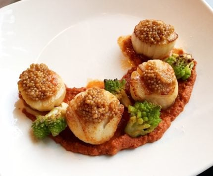 Scallops at CharBlue