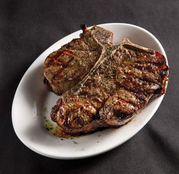 Ruth's Chris Steak House's porterhouse steak